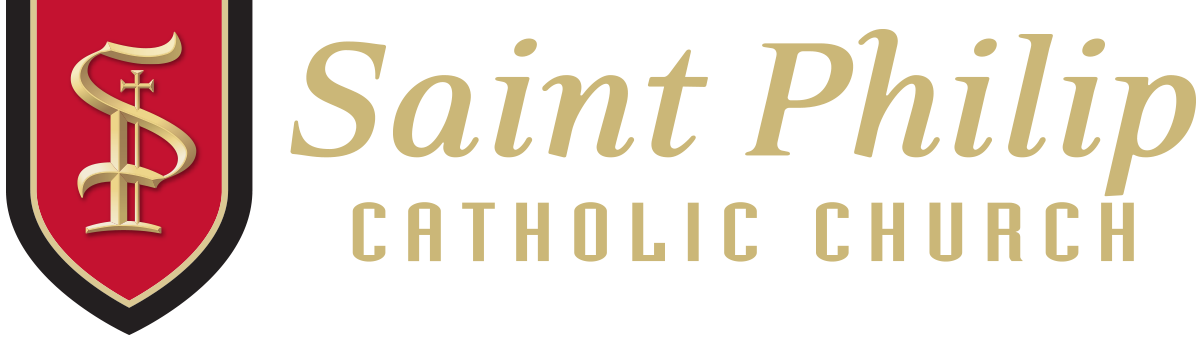 Saint Philip Catholic Church Mobile Retina Logo